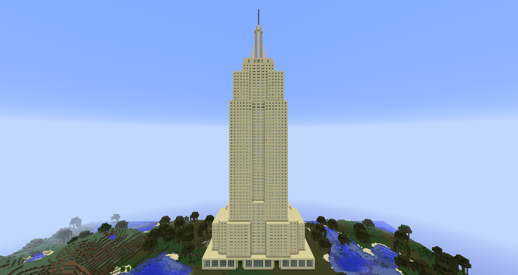 How To Build The Empire State Building In Minecraft Xbox