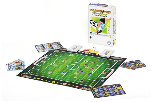 As es campeones el juego de mesa de oliver y benji for Juego de mesa de futbol
