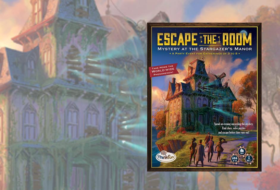 El Misterio De La Mansion Room Escape