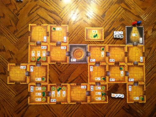 Tablero de Escape: The Curse of the Temple