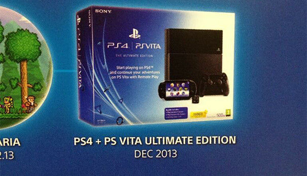 PS4 + PS VITA Ultimate Edition