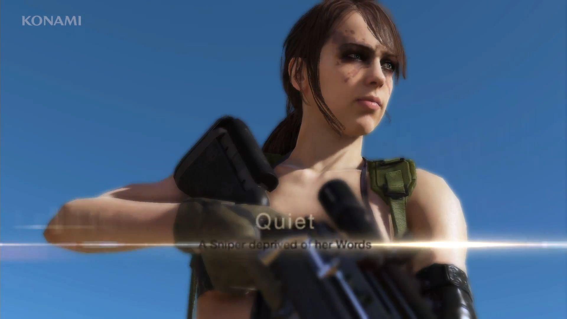 Quiet La Francotiradora De Metal Gear Solid V Tendrá Una