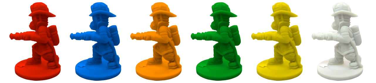 Figuritas de Bomberos