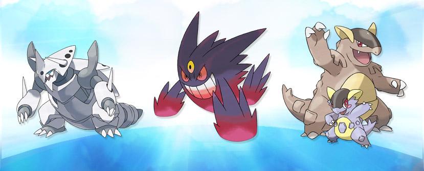Mega-Evoluciones Pokémon
