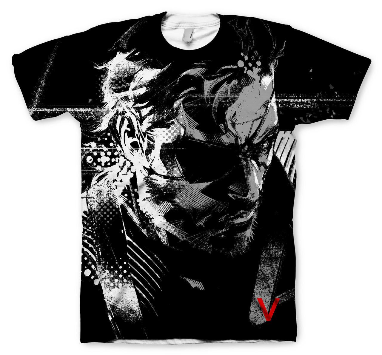 Camiseta Snake Metal Gear Solid  Ground Zeroes