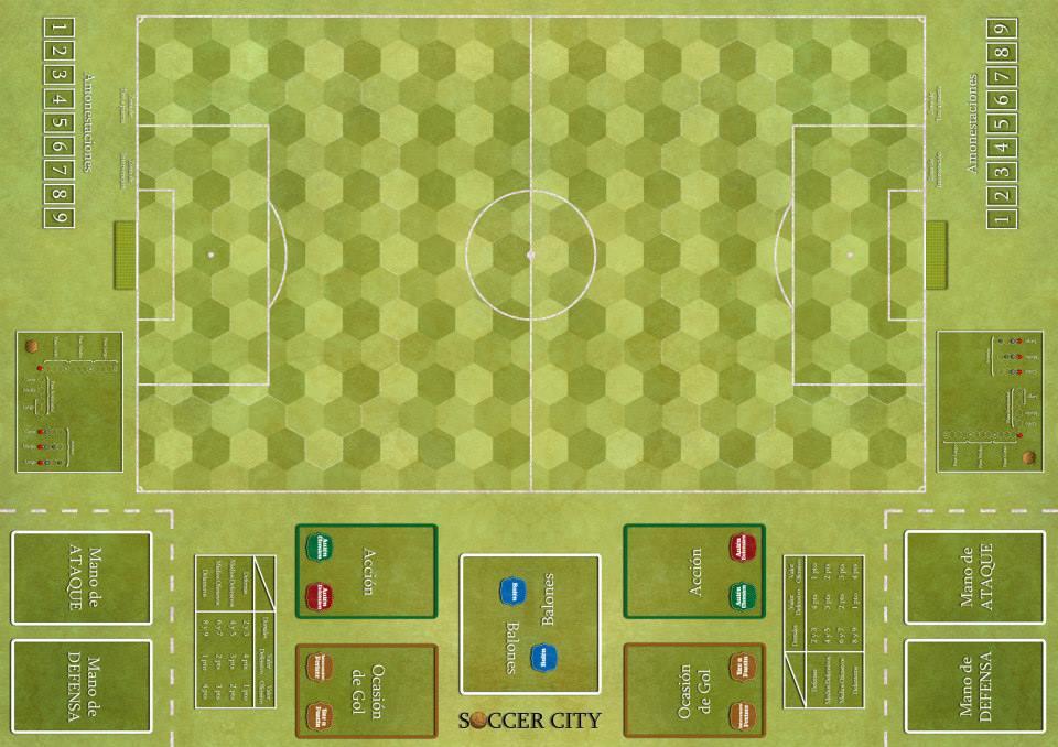 Tablero Soccer City.