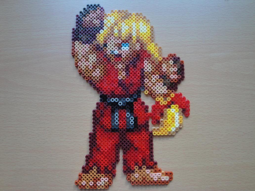 Hama Beads Ken