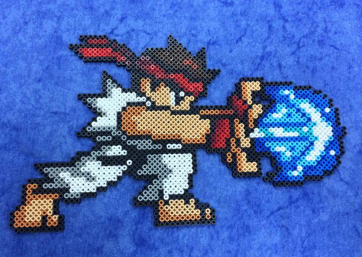 Hama Beads Ryu