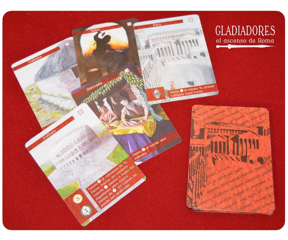 Edificios Gladiadores el ascenso de roma