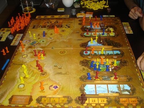 Juego de Mesa Age of Empires 3