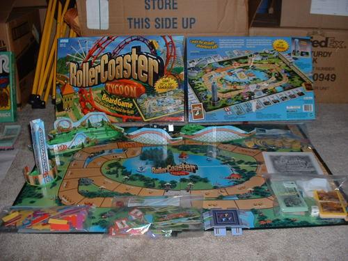Juego de Mesa Roller Coaster Tycoon