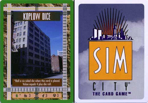 Juego de Mesa Sim City
