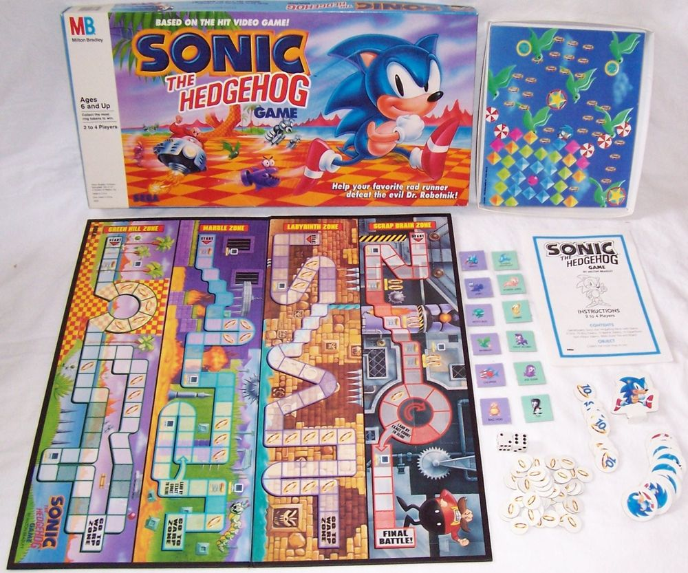 Juego de Mesa Sonic