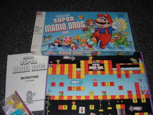 Juego de Mesa Super Mario Bros