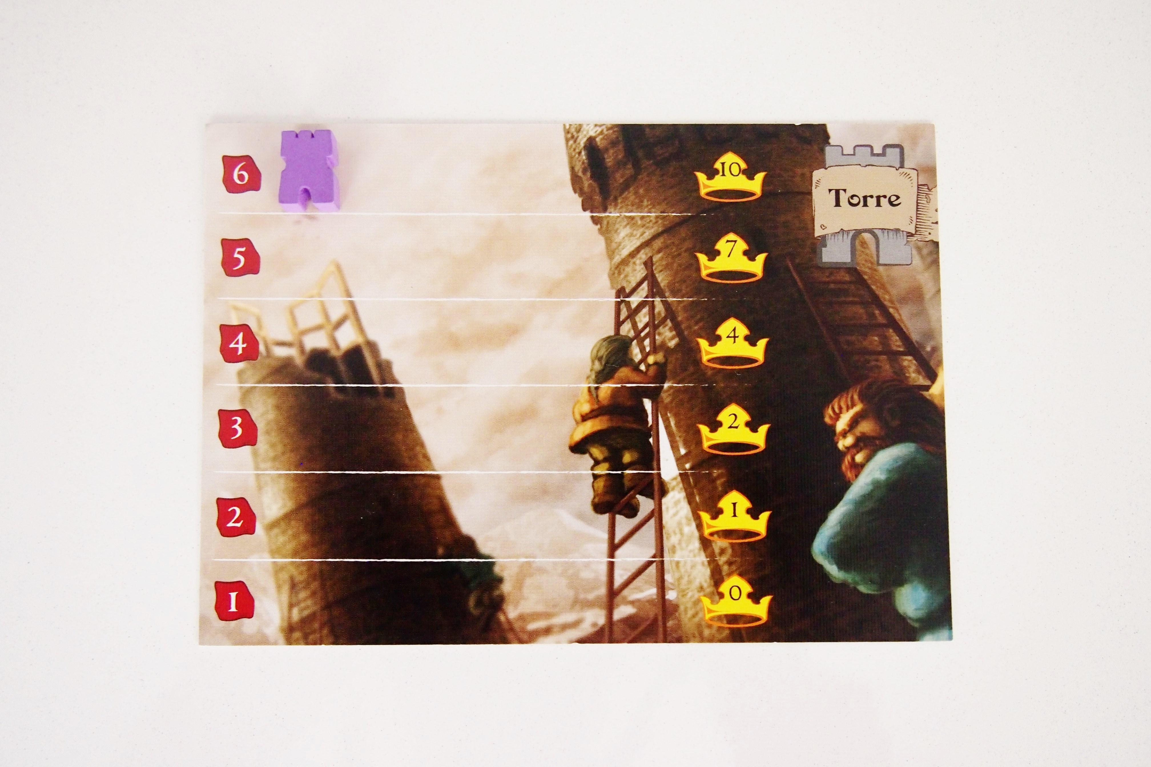 La partida finalizará cuando un jugador coloque a sus siete trabajadores, cuando alcance el último nivel de magia o en el momento en que construya su sexto tramo de torre.