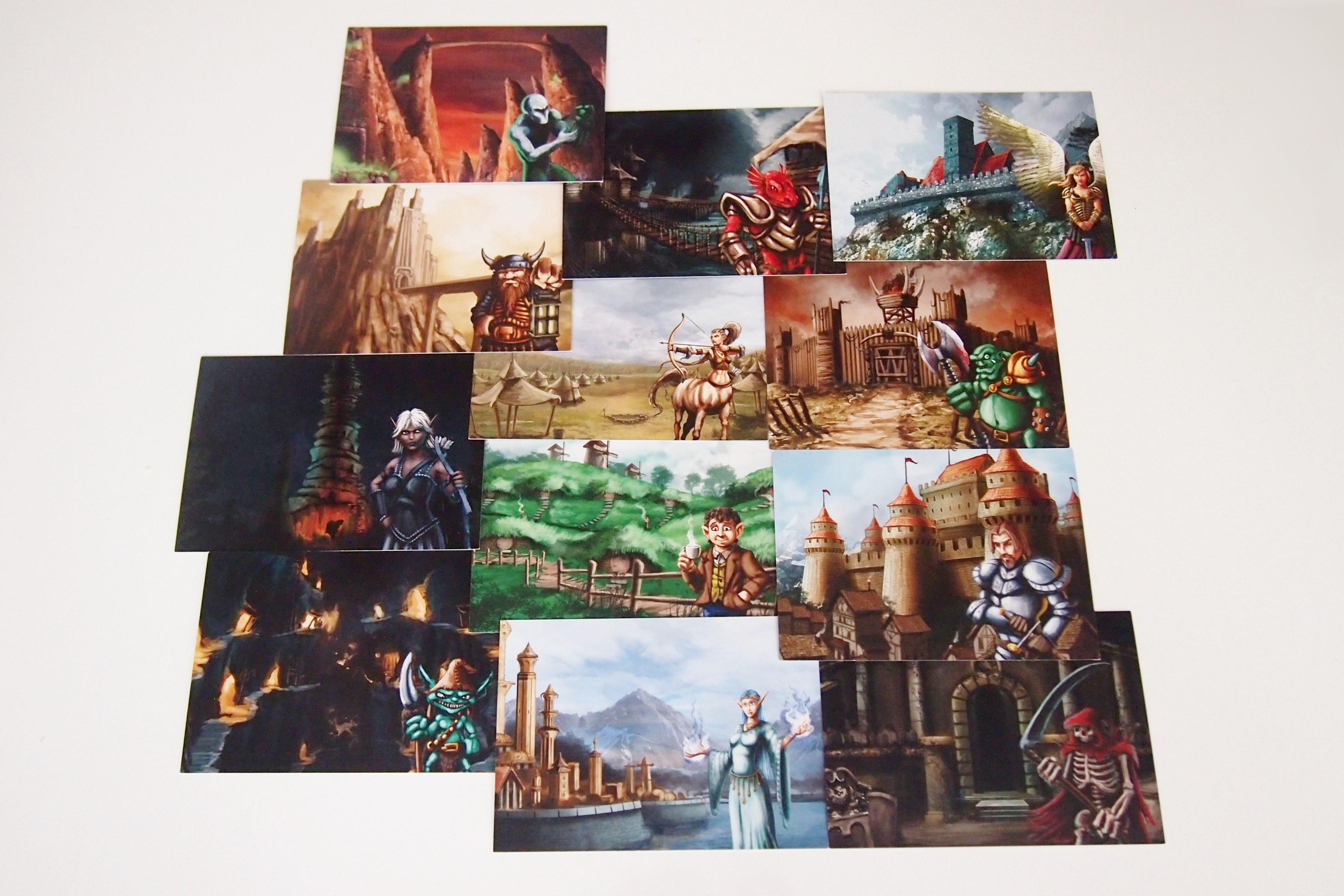 Las 13 facciones permiten al jugador hacer uso de distintas habilidades y planear una estretagia.