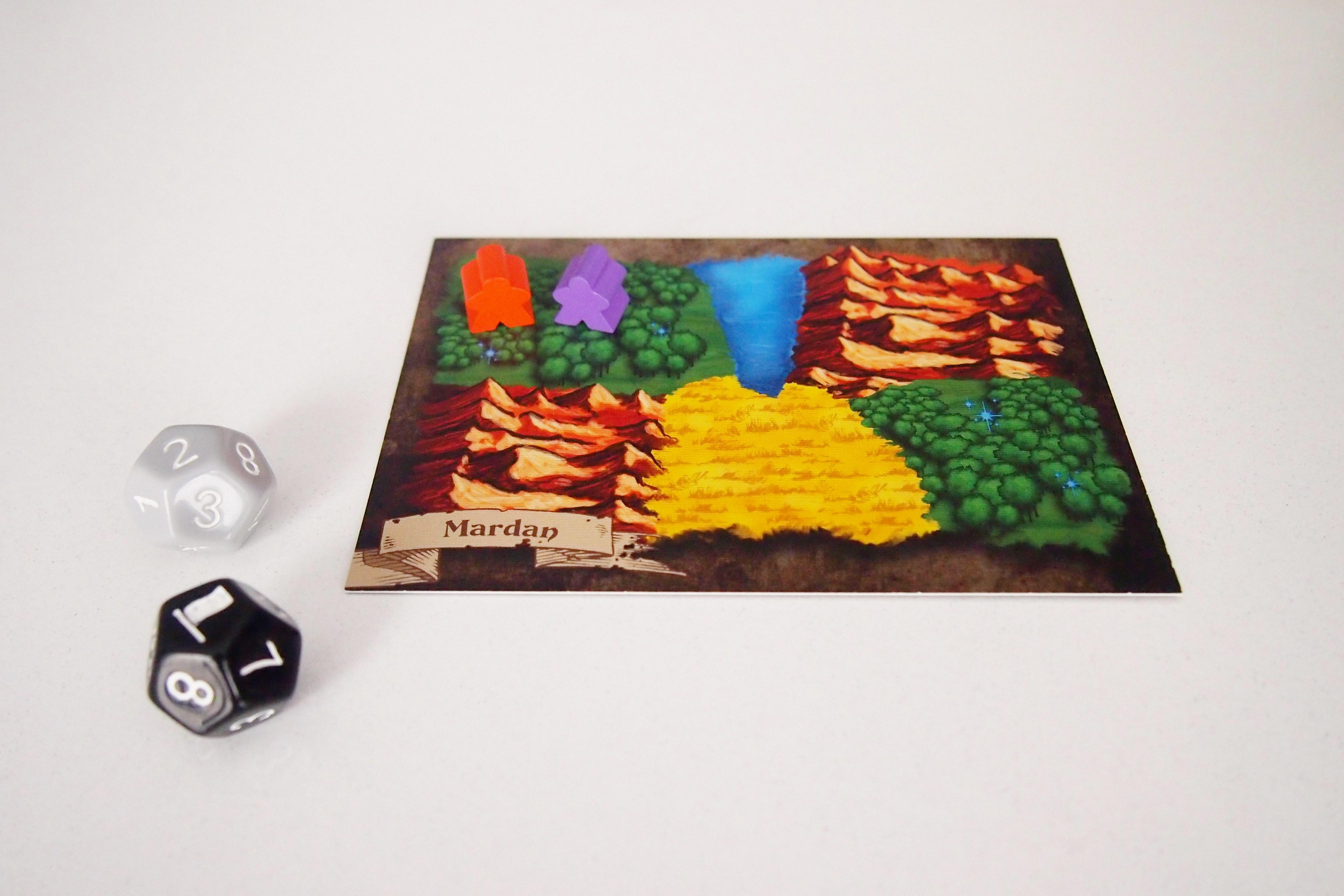 La guerra también forma parte del juego cuando dos jugadores se encuentran en un mismo terreno.