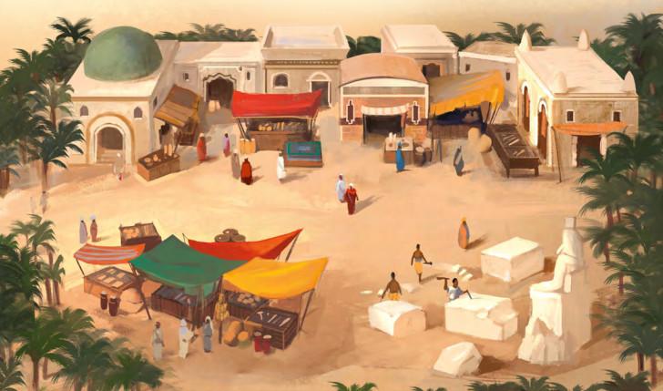 Imhotep juego de mesa