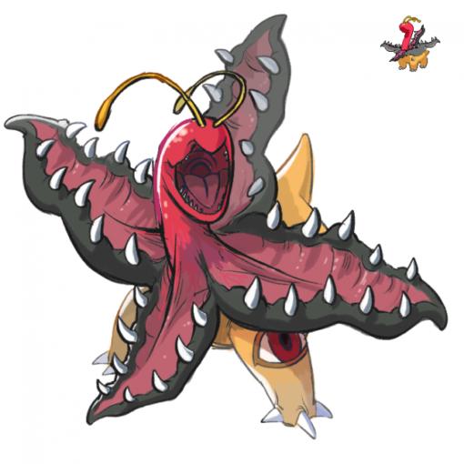 Pokemon fusion Meganiun