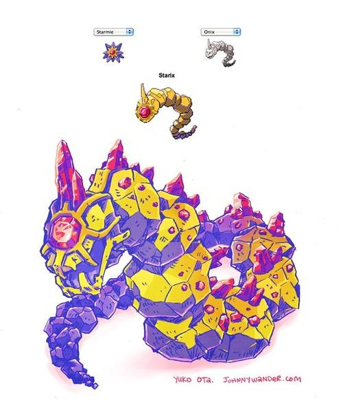 Pokemon fusion Starmie