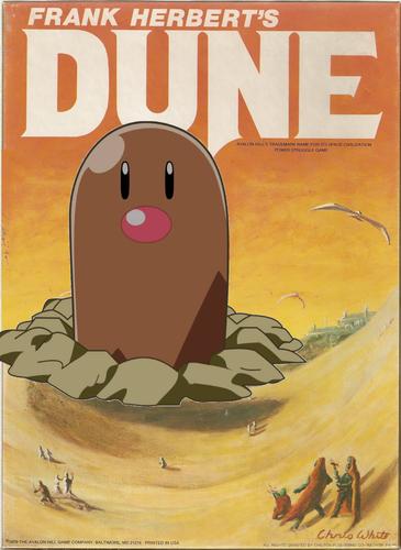 Dune Pokemon