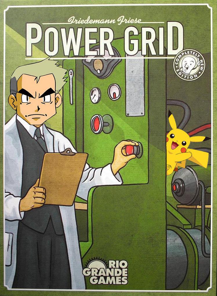 Power Grid Pokemon