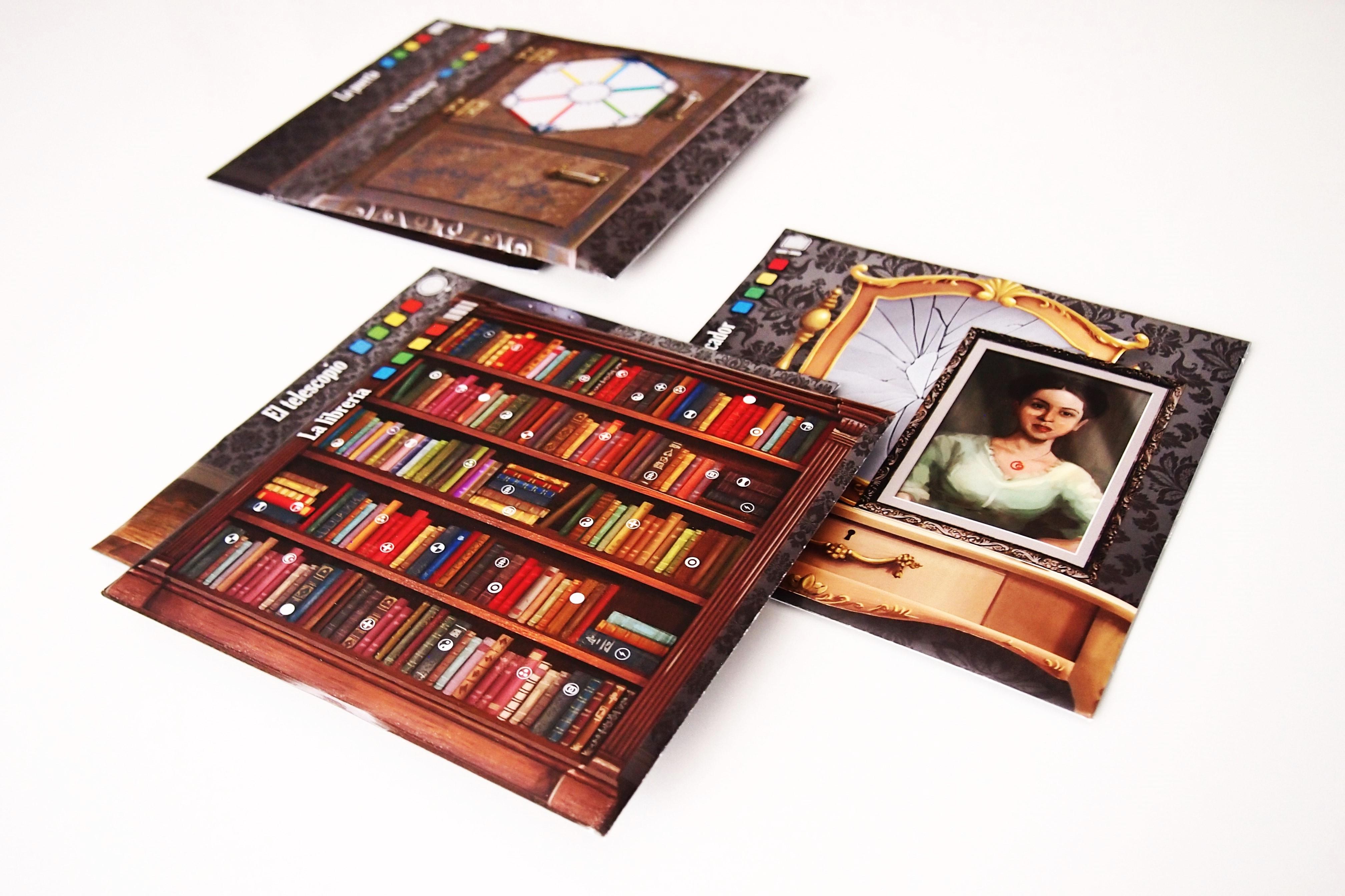 Los sobres, las puertas a un mundo de puzles.