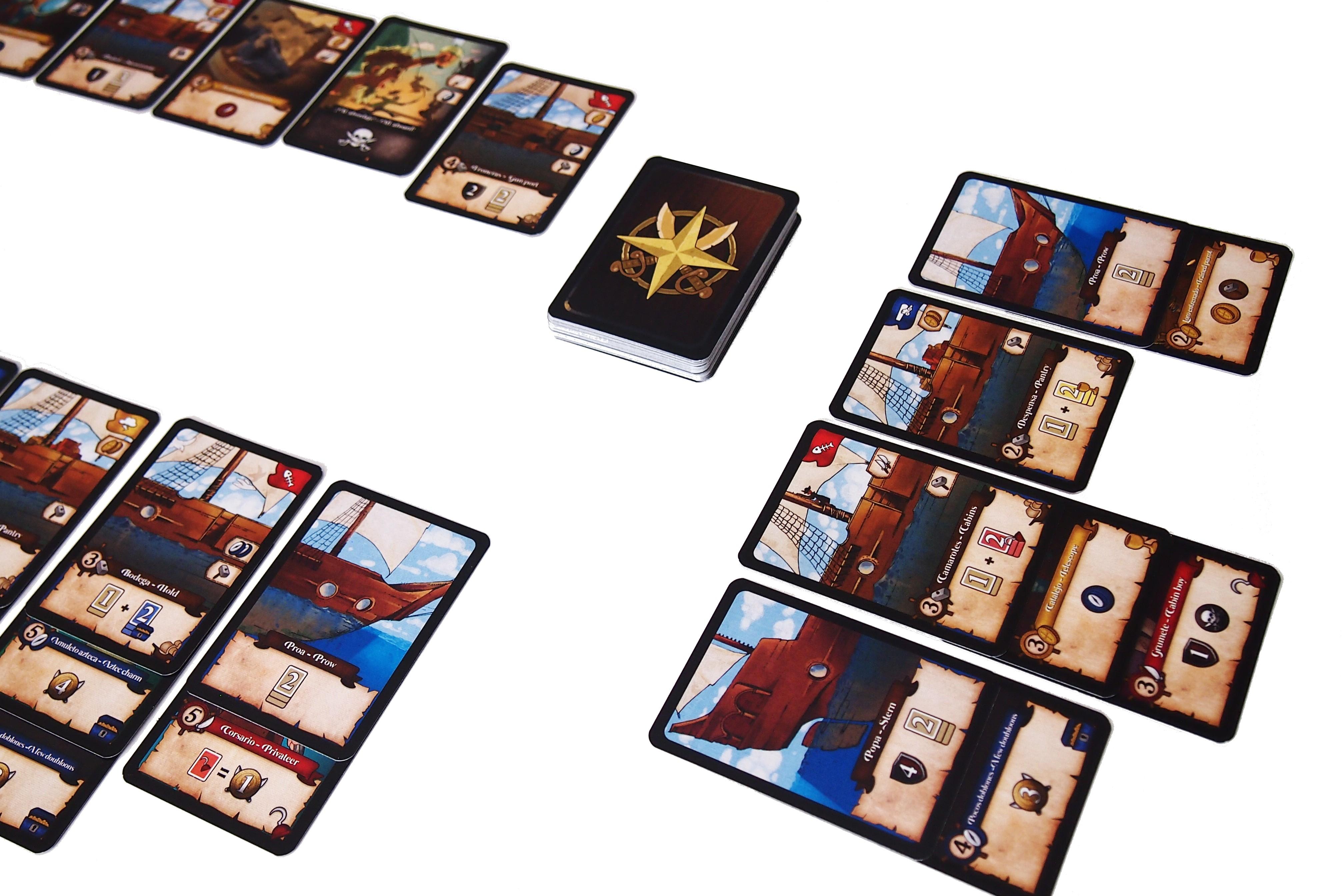 En él, es posible robar un tesoro o un objeto a otro jugador, comparando los valores de ataque y defensa de ambos barcos.