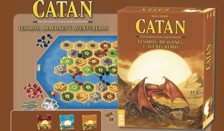 Catan Tesoros Dragones y Aventureros