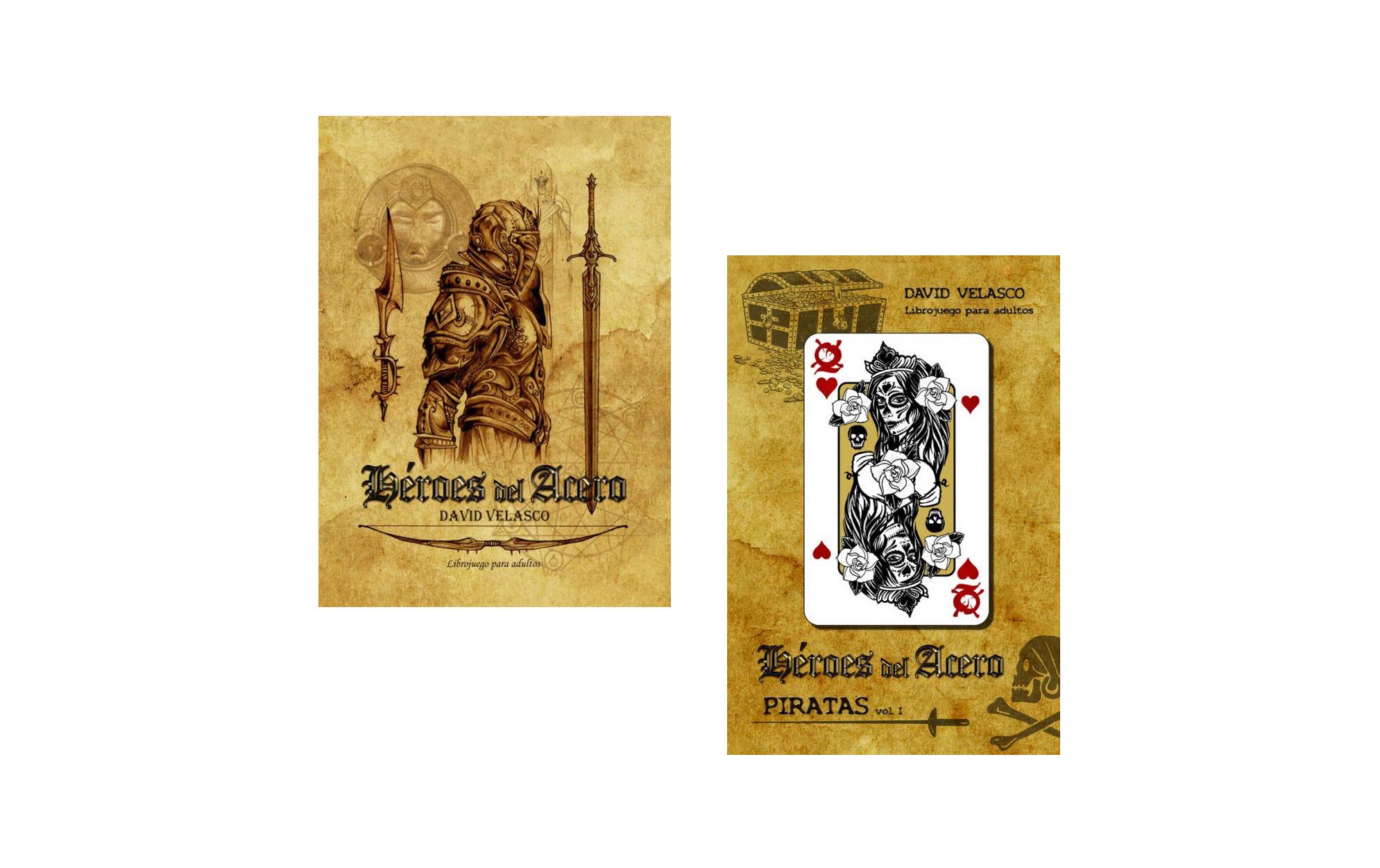 Heroes del Acero Piratas librojuego