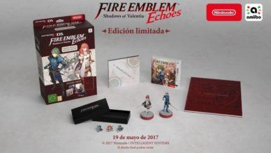 Fire Emblem Echoes Edición limitada