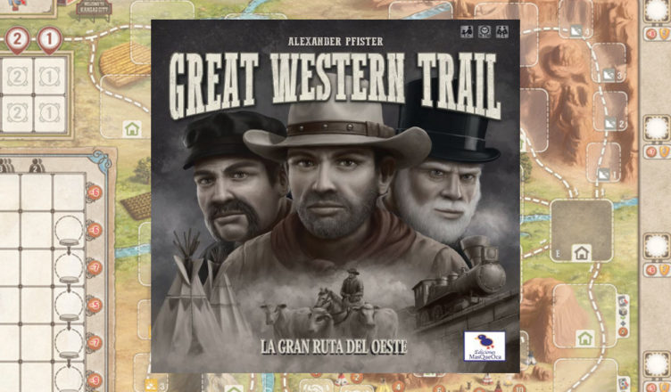 Great Western Trail juego