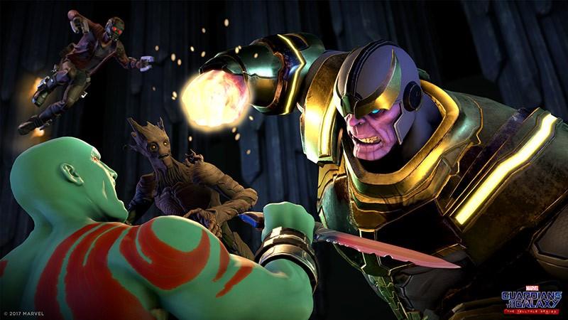 Guardianes de la Galaxia The Telltale Series