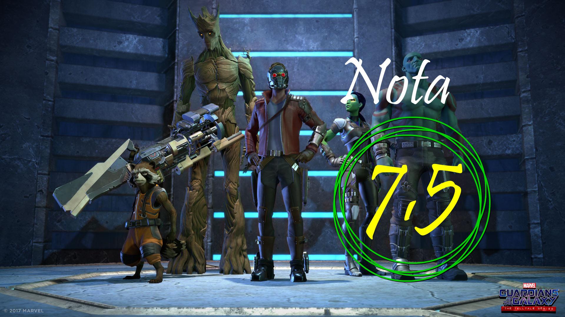 Guardianes de la Galaxia juego análisis