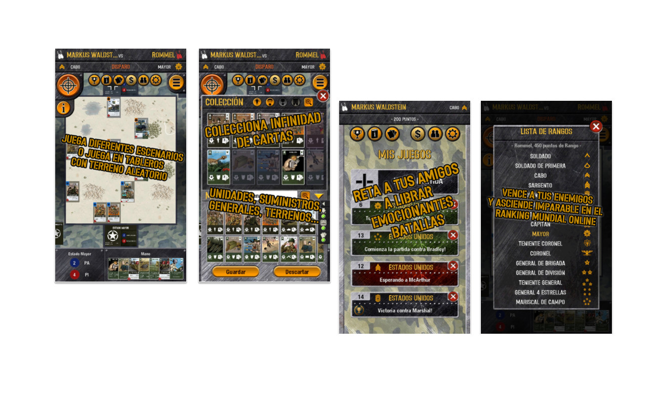 WWII Tactics Card Game android ios
