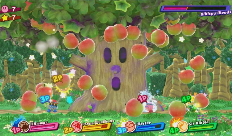 Kirby y Yoshi