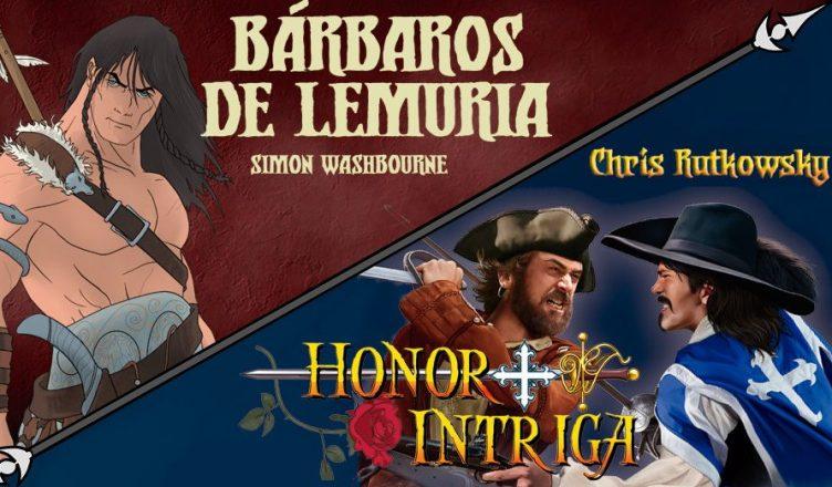 Barbaros de Lemuria y Honor + Intriga
