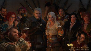The Witcher 10 aniversario
