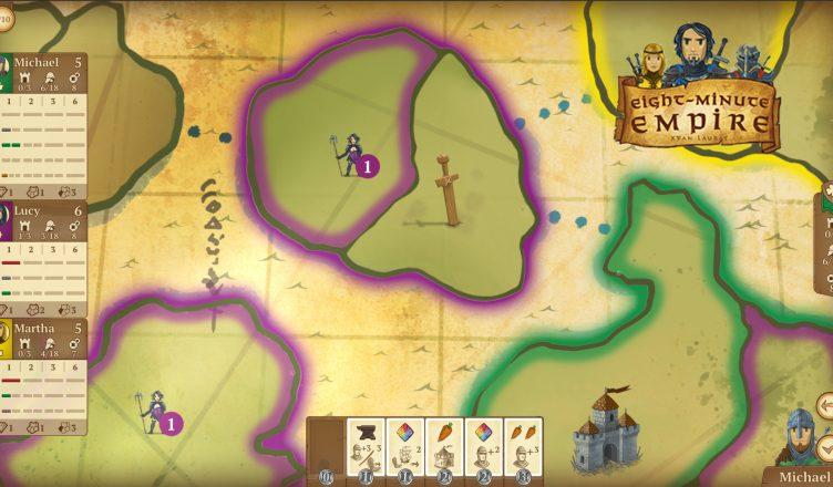 Un imperio en 8 minutos videojuego