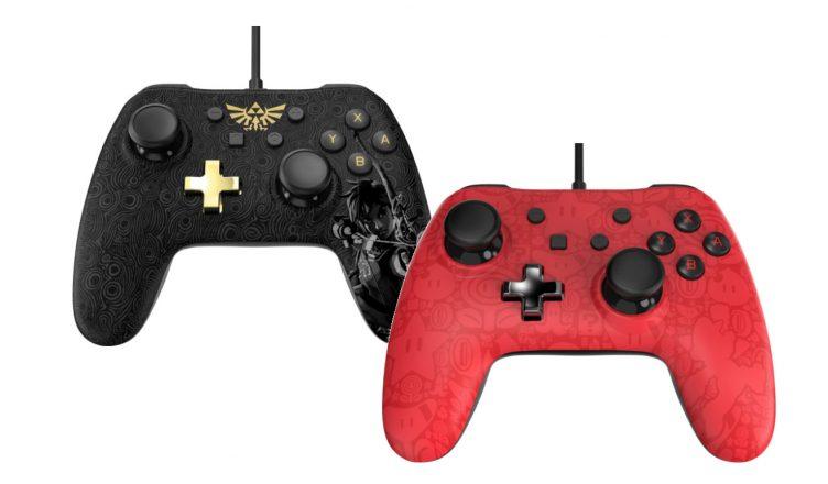 mandos Switch Zelda y Mario