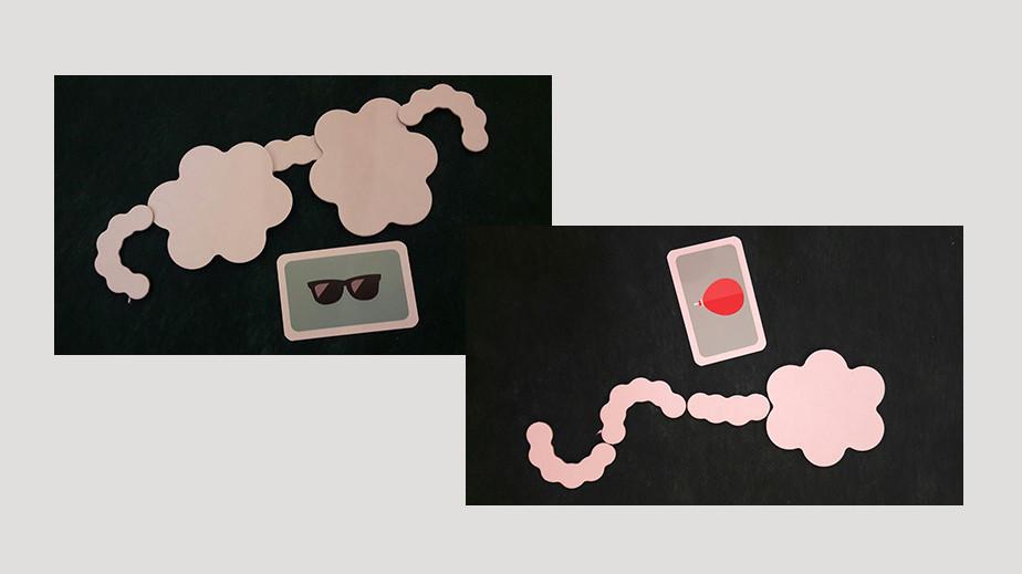 Nubes juego de mesa