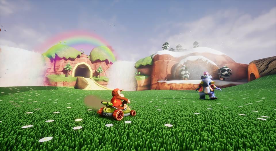 Diddy Kong Racing Unreal Engine 4