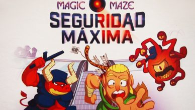 Magic Maze: Seguridad Máxima
