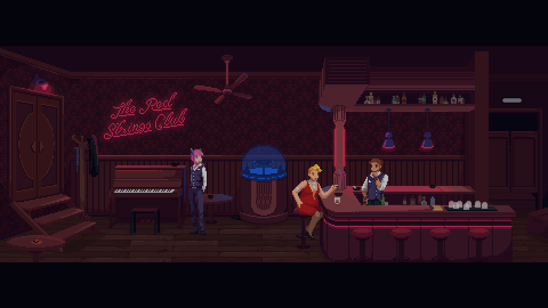 La aventura narrativa The Red Strings Club llega a PC • Consola y Tablero