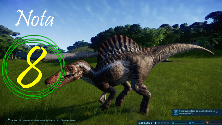 Jurassic World Evolution nota