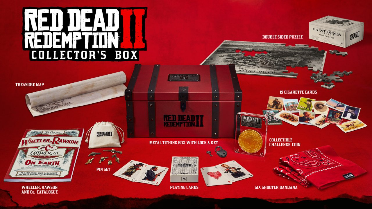 Red Dead Redemption 2 Collector Box