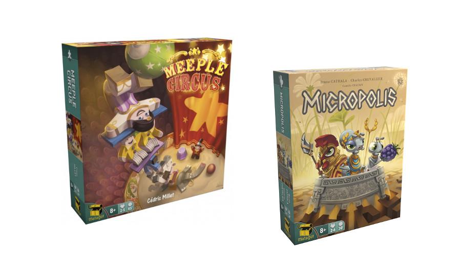 Meeple Circus y Micropolis