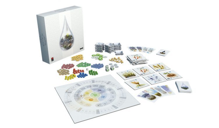 Petrichor juego de mesa