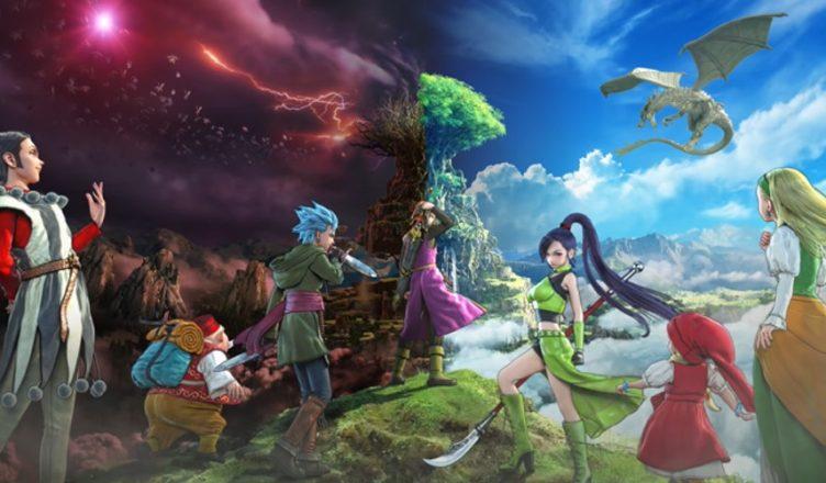 personajes Dragon Quest XI