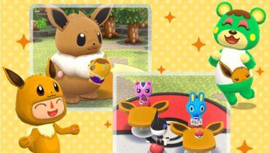 Eevee Animal Crossing Pocket Camp